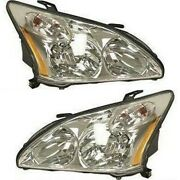 Headlight Lamp Left-and-right Lx2503123 Lx2502123 8117048200 8113048200