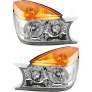 12335569 12335570 Gm2503226 Gm2502226 Headlight Lamp Left-and-right Lh And Rh