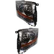 Headlight Lamp Left-and-right Gm2503309 Gm2502309 22783445 22783446 Lh And Rh