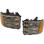 Headlight Lamp Left-and-right Gm2503283, Gm2502283 20980241, 22853030 Lh And Rh