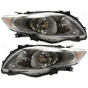 Headlight Lamp Left-and-right To2503183 To2502183 8115002680 8111002680