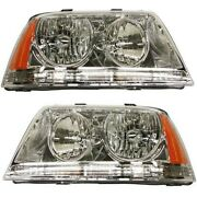 Hid Headlight Lamp Left-and-right Hid/xenon Fo2503205 Fo2502205 Lh And Rh