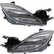 Hid Headlight Lamp Left-and-right Hid/xenon Ma2519119 Ma2518119 Lh And Rh