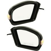 Mirror For 2003-2009 Mercedes-benz E320 Driver And Passenger Side Set Of 2