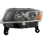 68110997af Ch2502247 Headlight Lamp Left Hand Side Driver Lh For Grand Cherokee
