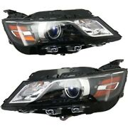 Headlight Lamp Left-and-right For Chevy Gm2503388 Gm2502388 23210365 23210364