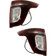 Tail Lights Lamps Set Of 2 Left-and-right Lh And Rh Fo2801230 Fo2800230 Pair