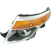 Hid Headlight Lamp Left Hand Side Hid/xenon Driver Lh Fo2518127 Bb5z13008v
