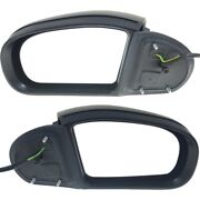 Set Of 2 Mirrors Left-and-right Heated For Mercedes C Class Sedan Lh And Rh Pair