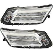 Set Of 2 Parking Lights Lamps Left-and-right Vo2521112 Vo2520112 Lh And Rh Pair