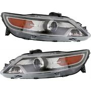 Headlight Lamp Left-and-right Fo2503283 Fo2502283 Ag1z13008c Ag1z13008d