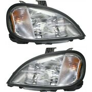 Headlight Lamp Left-and-right A0632496007 A0632496006 Lh And Rh For Columbia