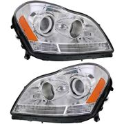 Mb2503202, Mb2502202 Headlight Lamp Left-and-right For Mercedes Lh And Rh Gl450