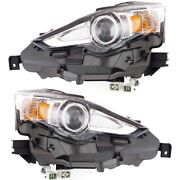 Lx2503157, Lx2502157 Hid Headlight Lamp Left-and-right Hid/xenon Lh And Rh
