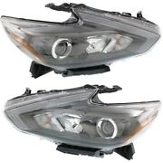 Headlight Lamp Left-and-right Ni2502249c Ni2503249c 260609hs4a 260109hs4a
