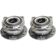 Set Of 2 Wheel Hubs Front Left-and-right Lh And Rh E70 X5 Series For Bmw X6 Pair