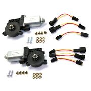 Pair Window Motors Set Of 2 Front Or Rear Left-and-right For Chevy Le Sabre