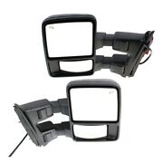 Mirror For 2008-2012 Ford F-350 Super Duty Driver And Passenger Side Set Of 2