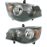 Headlight Lamp Left-and-right For Town And Country Dodge Ch2502266c, Ch2503266c