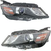 Headlight Lamp Left-and-right For Chevy Gm2502417c, Gm2503417c Lh And Rh Impala