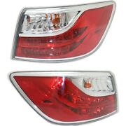 Tail Lights Lamps Set Of 2 Left-and-right Outside Ma2804110c, Ma2805110c Pair
