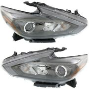 Headlight Lamp Left-and-right Ni2502249 Ni2503249 260609hs4a 260109hs4a