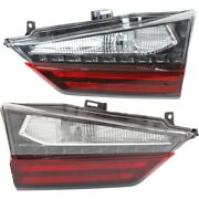 Tail Lights Lamps Set Of 2 Left-and-right Inside Lx2802127, Lx2803127 Pair