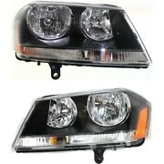 Headlight Lamp Left-and-right Ch2502194c Ch2503194c Lh And Rh For Dodge Avenger
