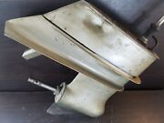 1968 Johnson Evinrude 15 Lower Unit 100 Hp V4 For Parts Or Repair