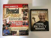 Dave Ramsey Financial Peace University Total Money Makeover Books Cd Set