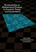 An Introduction To Mathematical Analysis For Ec Corbae Stinchcombe Zeman+=