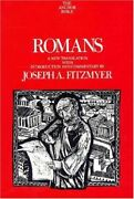Romans Anchor Bible Commentaries The Anchor , Fitzmyer+=