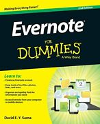 Evernote For Dummies By Sarna New 9781118855942 Fast Free Shipping+=