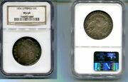 1836 Lettered Capped Bust Half Dollar Ngc Ms64 Rare