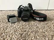 Canon Eos Rebel Xs/eos 1000d - Good Condition Dslr Camera W/ Charger And Battery