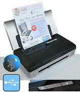Small Mobile Printer Hp Officejet 100 For Windows Xp Win 7 8 10 Usb Bluetooth