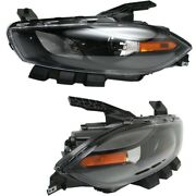 Ch2519145 Ch2518145 Hid Headlight Lamp Left-and-right Hid/xenon Lh And Rh