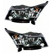 Headlight Lamp Left-and-right For Chevy Lh And Rh Cruze Gm2503356c, Gm2502356c