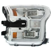 Headlight Lamp Left Hand Side For F150 Truck Driver Lh Ford F-150 Fo2502344c