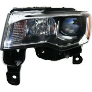 68289235ad Ch2502297 Headlight Lamp Left Hand Side Driver Lh For Grand Cherokee