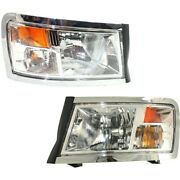 Headlight Lamp Left-and-right Ch2519128 Ch2518128 55112244ae 55112245ae