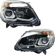 Headlight Lamp Left-and-right For Chevy Gm2502424, Gm2503424 84009751, 84009752