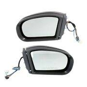 Mirror For 2003-2006 Mercedes-benz E500 Driver And Passenger Side Set Of 2