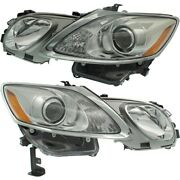 Lx2518145 Lx2519145 Hid Headlight Lamp Left-and-right Hid/xenon Lh And Rh