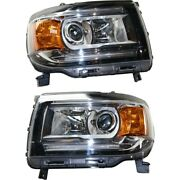 Headlight Lamp Left-and-right Gm2502412 Gm2503412 84145748 84145749 Lh And Rh