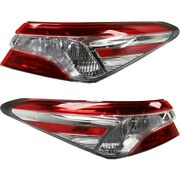 Tail Lights Lamps Set Of 2 Left-and-right Outside To2805138 To2804138 Pair