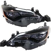 Headlight Lamp Left-and-right To2503249 To2502249 8111002m70 8115002m70