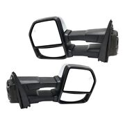 Pair Mirrors Set Of 2 Left-and-right Heated For F150 Truck Fo1320520 Fo1321520