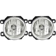 Pair Fog Lights Lamps Set Of 2 Front Left-and-right Su2592122c 84501aj060