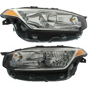 313531402 313531394 Vo2503149 Vo2502149 Headlight Lamp Left-and-right Lh And Rh